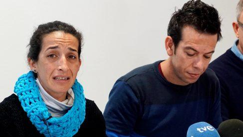 Patricia Ramírez y Ángel Cruz, padres de Gabriel, el niño de 8 años asesinado en Níjar, Almería. (Foto: EFE)