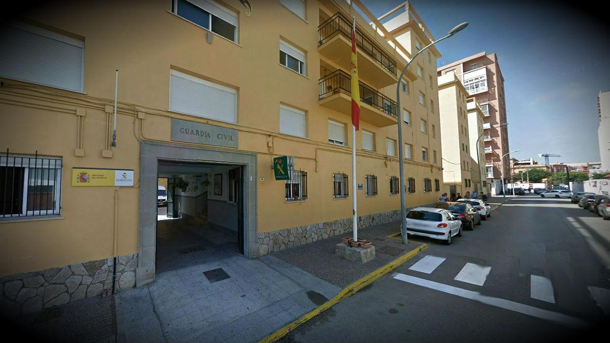 Cuartel de la Guardia Civil de La Línea de la Concepción (Cádiz).