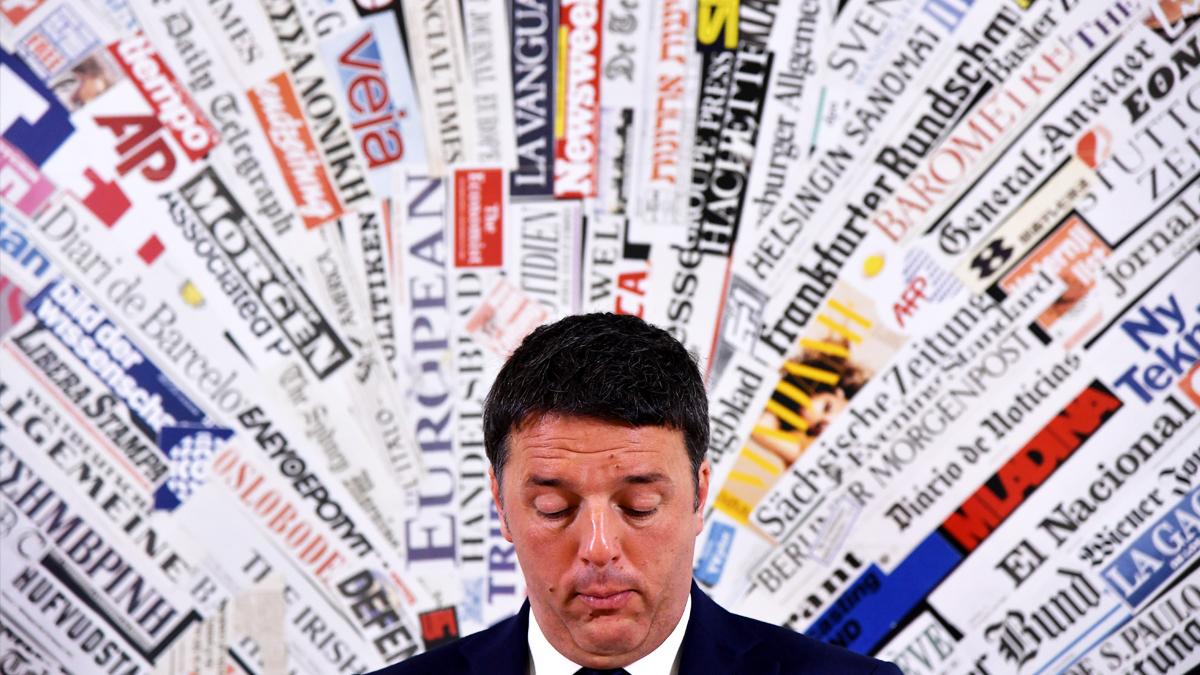Matteo Renzi, ex primer ministro de Italia. (Foto: AFP)