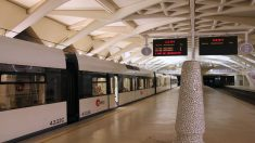 Metro de Valencia.