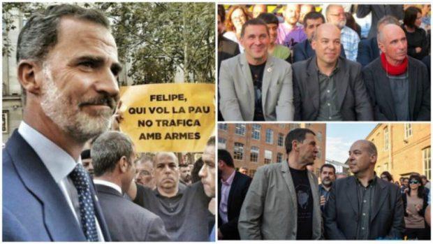 El líder de los mossos separatistas y un amigo de Otegi aspiran a liderar la golpista ANC