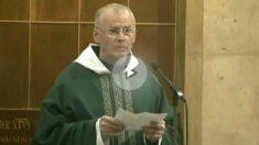 El monje Josep Miquel Bausset, de Montserrat y su homilía independentista.