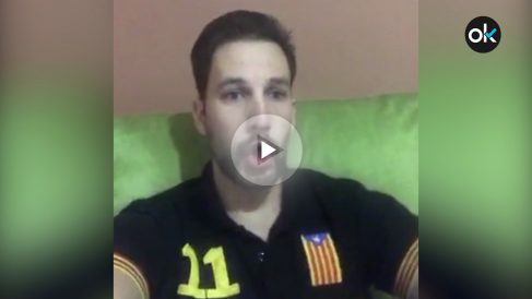 El líder de los mossos separatistas, Albert Donaire, arremete contra los manifestantes de Tabarnia