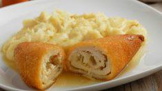 Receta de Pechuga de pollo rellena sana y fácil de preparar