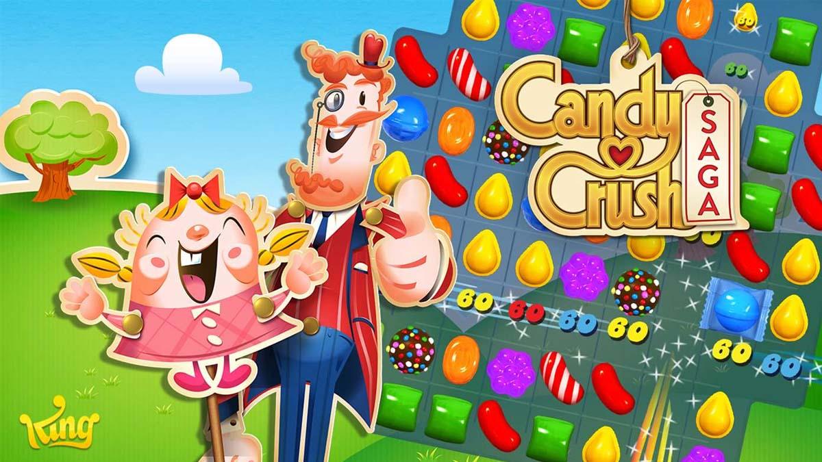 Únete a Tiffi y al señor Toffee en Candy Crash Saga, un épico viaje repleto de deliciosos caramelos