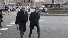 Ignacio González en su llegada a los Juzgados de Plaza Castilla. (Foto: Francisco Toledo)