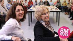 Celia Mayer y Manuela Carmena. (Foto: Madrid)