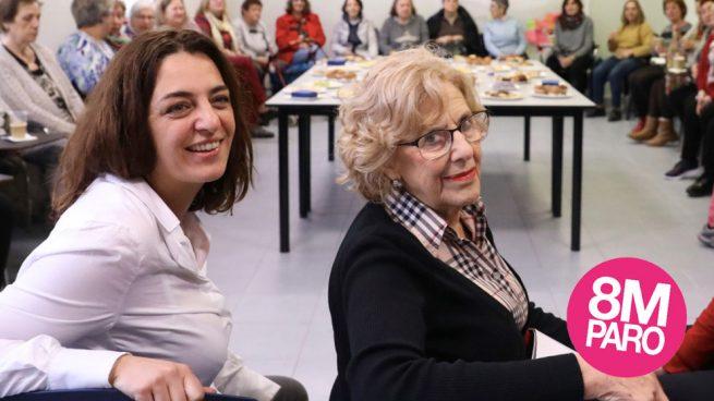 Huelga feminista: Carmena no logra acordar con los sindicatos los servicios mínimos para el 8M