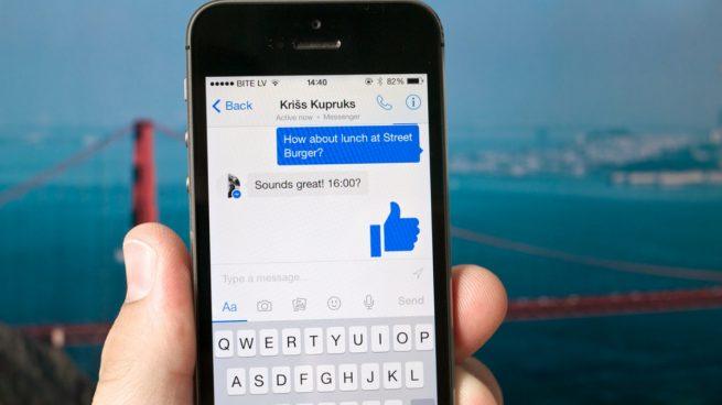 como desinstalar messenger de facebook
