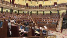 Una sesión en pleno del Congreso de los Diputados.