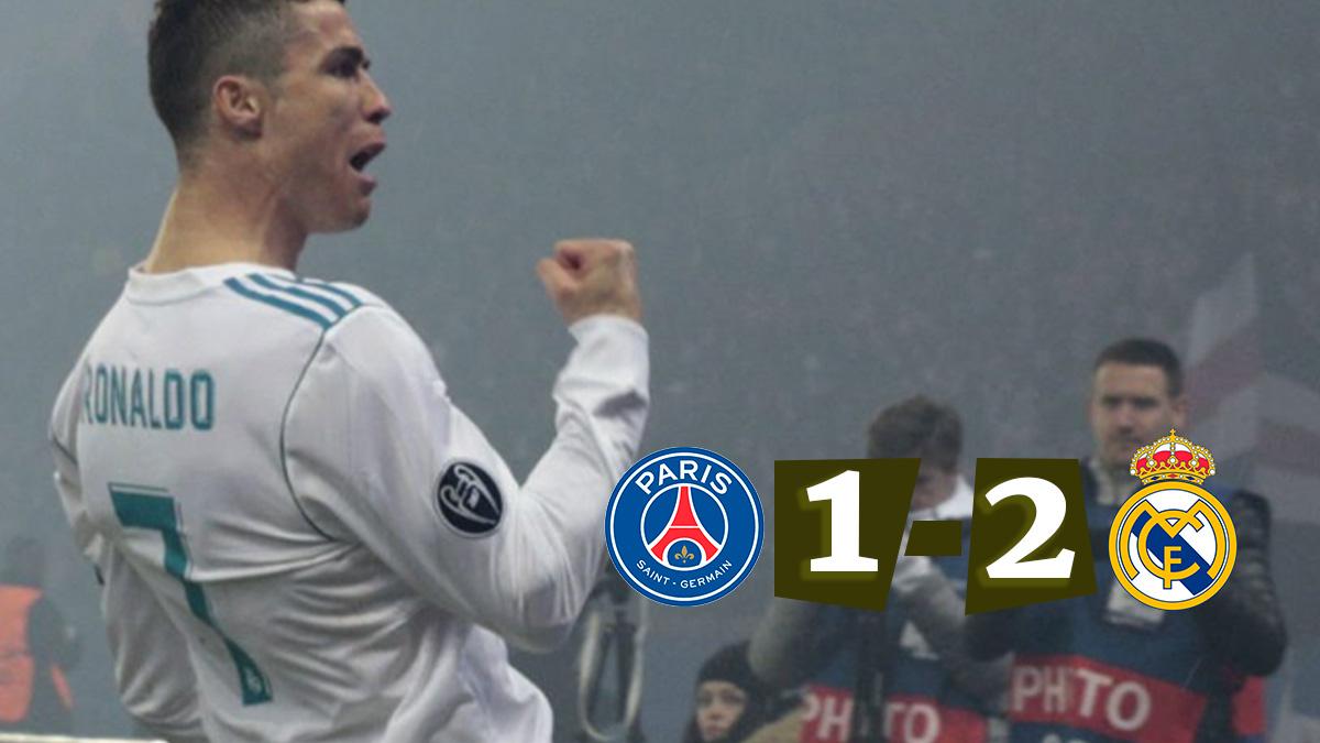 Cristiano Ronaldo volvió a reinar en París para liderar al Real Madrid al triunfo.
