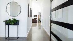 Ideas para decorar tu pasillo, sea como sea.