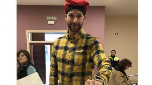 Albert Donarie, el líder de los mossos independentistas