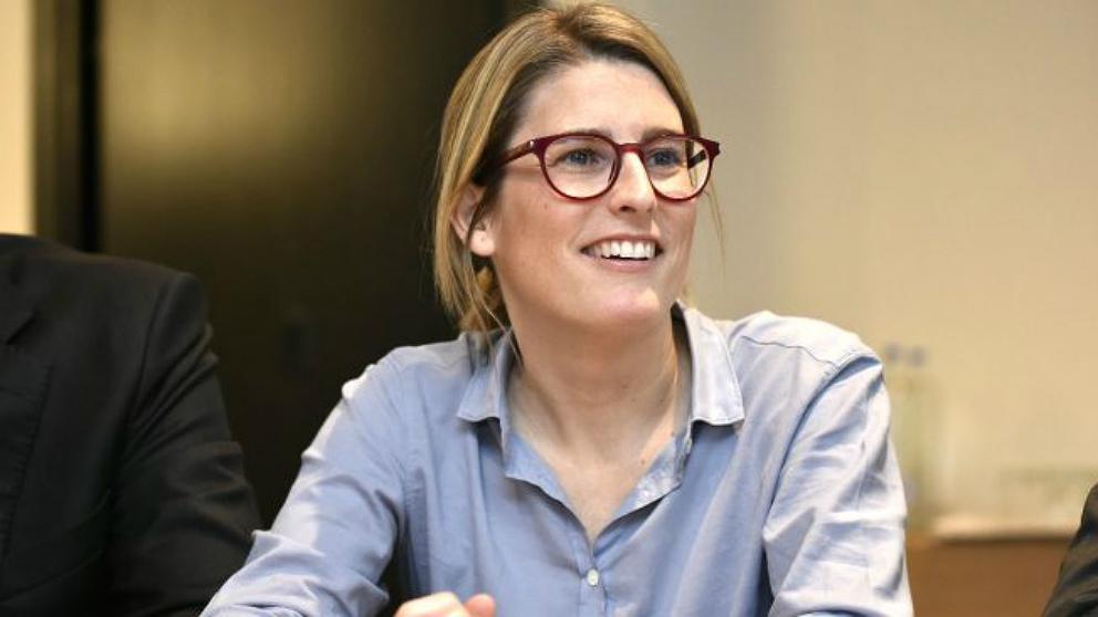 La portavoz del Govern de la Generalitat de Cataluña, Elsa Artadi. (AFP)
