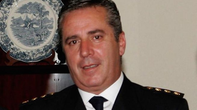 Comisario Carlos Salamanca (Foto: Efe).