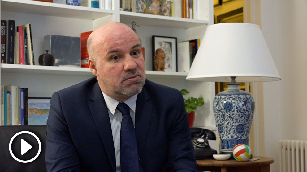 Entrevista al portavoz de Jueces para la Democracia, Ignacio González Vega (Imagen: Lidia Rodríguez).