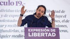 Pablo Iglesias en un acto sobre libertad de expresión. (Foto. Flickr)