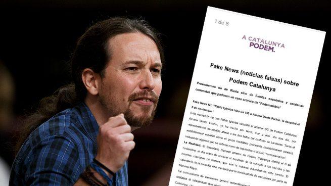Iglesias filtra un argumentario entre la militancia para blanquear su 'dedazo' en Podemos Cataluña