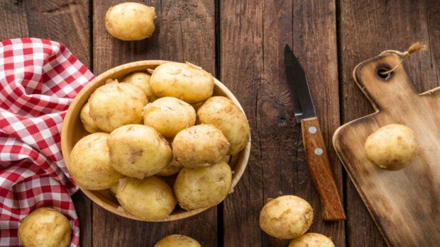 Ensaladilla de pollo y patatas