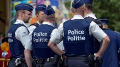 Miembros del cuerpo de policía Belga