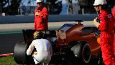 El McLaren de Vandoorne se paró tres veces. (Getty)