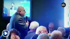 """El empresario alemán, Karl Jacobi, diciéndole a Roger Torrent """"yo voto para que todos ustedes vaya a la prisión""""."""
