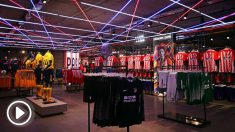 Tienda oficial del Atlético en el Wanda Metropolitano. (atleticodemadrid.com)