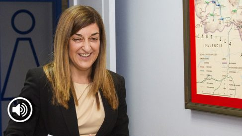 La presidenta del PP de Cantabria, María José Sáenz de Buruaga.