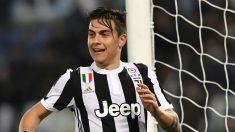 Dybala celebra un gol de la Juventus (AFP).
