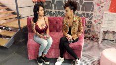 Elena y Cristina en el taller de 'Cámbiame'