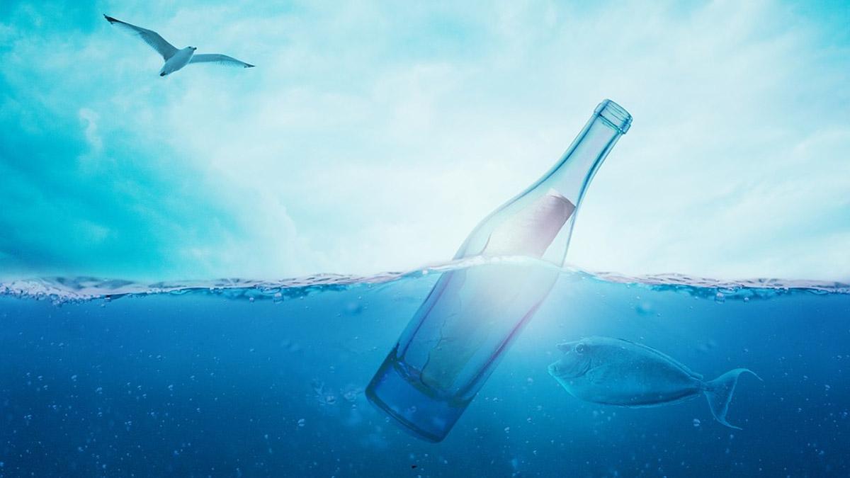 El mensaje en una botella encontrado recientemente en Australia fue enviado hace 132 años como parte de un experimento marítimo