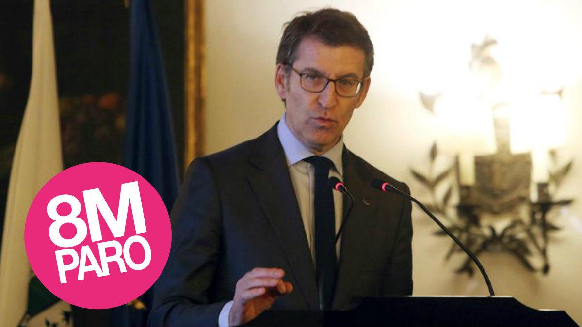 El Presidente de la Xunta de Galicia, Alberto Núñez Feijoo. Foto: EFE