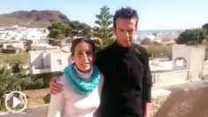 Los padres de Gabriel Cruz graban un vídeo en busca de su hijo desaparecido en Níjar.