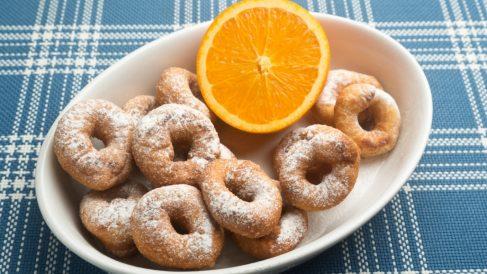 Receta de rosquillas de naranja: un postre fácil de preparar