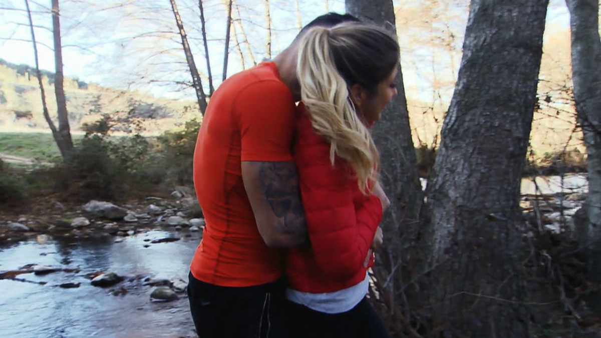 Sophie y Javi se comen a besos en 'MYHYV'