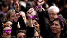 Manifestación feminista del 8-M.