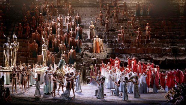 'Aida' de Giuseppe Verdi en el Teatro Real