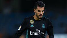 Ceballos, durante un partido con el Real Madrid esta temporada. (Getty Images)