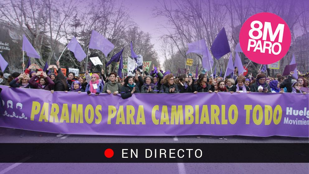 Manifestaciones del 8-M por el Día internacional de la Mujer 2018   Huelga feminista del 8 de marzo.