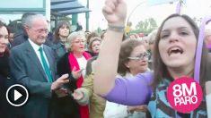 increpan al alcalde de Málaga