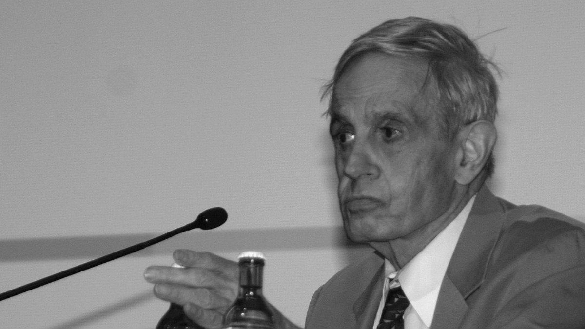 """John Nash, el matemático con """"una mente maravillosa"""""""