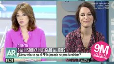 Ana Rosa Quintana entrevista a Andrea Levy.