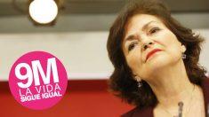Carmen Calvo, secretaria de Igualdad del PSOE. (Foto: PSOE)