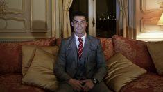 Cristiano Ronaldo, en uno de sus hoteles. AFP)