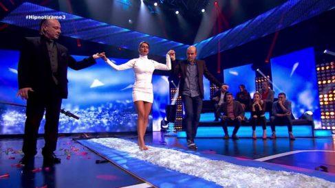 Cristina Pedroche en la Gala 3 de 'Hipnotízame'. (Foto: Atresmedia)