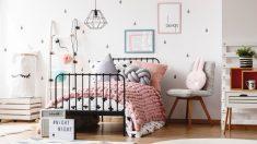 Ideas fáciles para decorar los dormitorios para niñas.