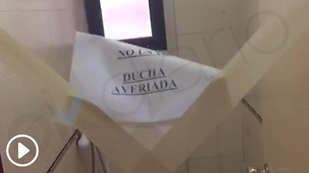 Camaretas de la Agrupación de Reserva de la Guardia Civil en la Comandancia de Barcelona.