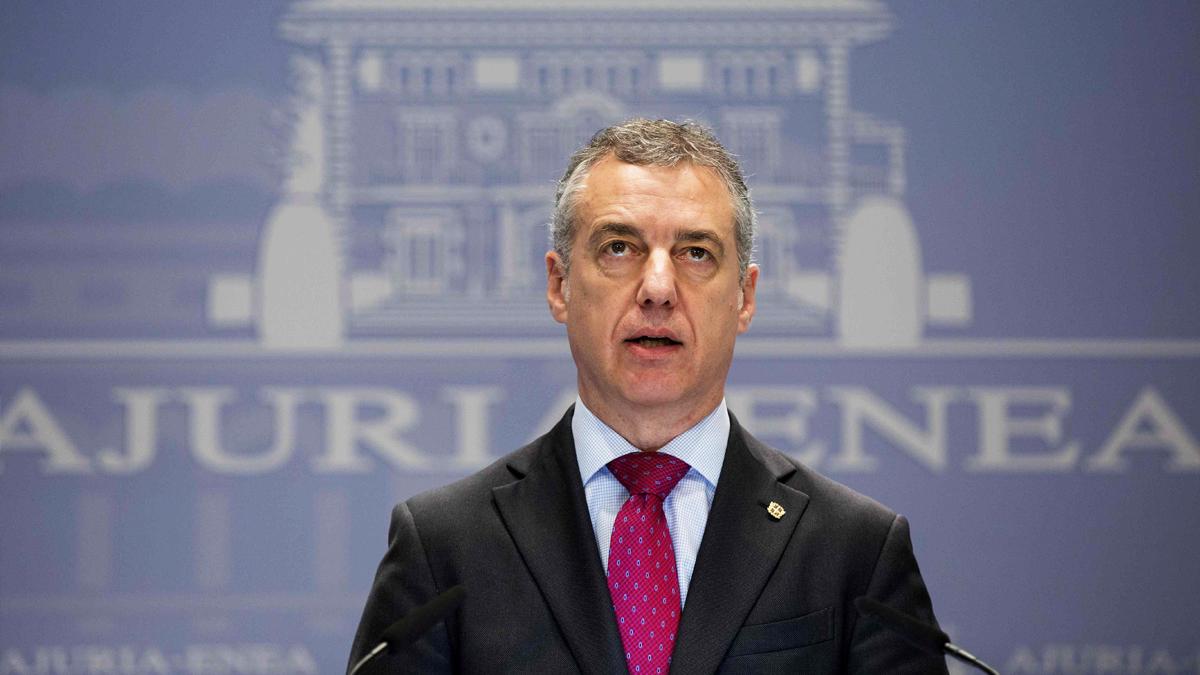 Iñigo Urkullu, lehendakari. (Foto: EFE) | Disolución ETA