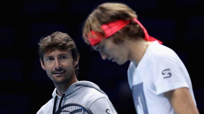 Continúa la guerra entre Zverev y Ferrero