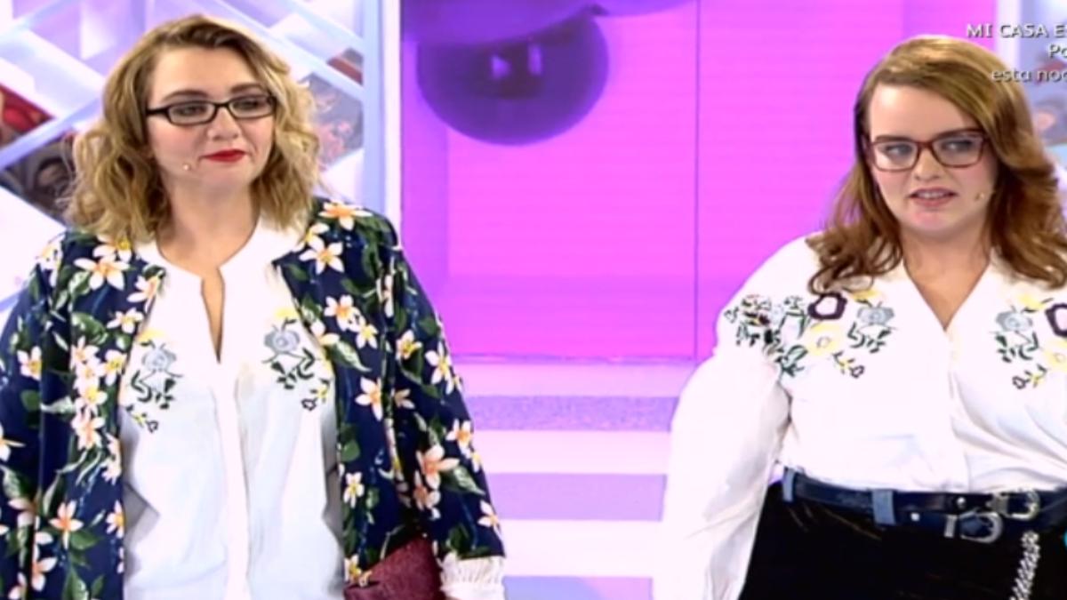 Natalia y Mari en 'Cámbiame'